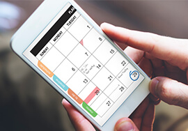 INTEGRATION WITH YOUR CALENDAR